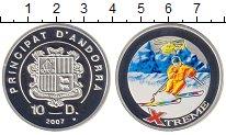 Изображение Монеты Андорра 10 динерс 2007 Серебро Proof Экстрим.