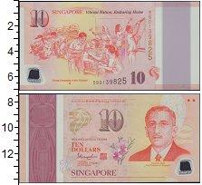 Изображение Банкноты Азия Сингапур 10 долларов 0  UNC
