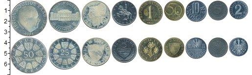 Изображение Наборы монет Европа Австрия Австрия 1971 1971  XF