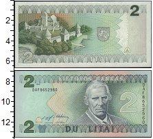 Изображение Банкноты Европа Литва 2 лит 1993  UNC