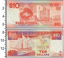 Изображение Банкноты Сингапур 10 долларов 1976  XF