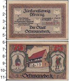 Изображение Банкноты Германия : Нотгельды 75 пфеннигов 1921  XF Выпуск 1 апреля 1921