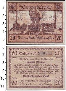 Изображение Банкноты Германия : Нотгельды 20 пфеннигов 1920  XF