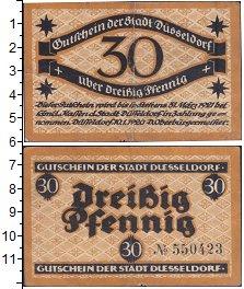 Изображение Банкноты Германия : Нотгельды 30 пфеннигов 1921  VF