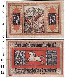 Изображение Банкноты Германия : Нотгельды 75 пфеннигов 1921  VF Выпуск 1 мая 1921 г.