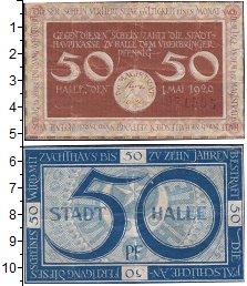 Изображение Банкноты Германия : Нотгельды 50 пфеннигов 1920  VF
