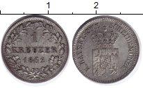 Изображение Монеты Бавария 1 крейцер 1862 Серебро XF