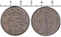 Изображение Монеты Ангола 10 эскудо 1969 Медно-никель XF