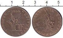Изображение Монеты Европа Франция 10 франков 1988 Медь XF