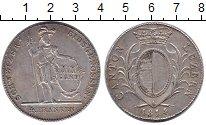 Изображение Монеты Люцерн 4 франка 1814 Серебро XF