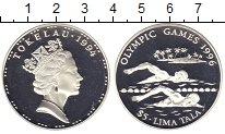 Изображение Монеты Токелау 5 тала 1994 Серебро Proof-