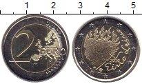 Изображение Мелочь Финляндия 2 евро 2016 Биметалл UNC