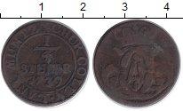 Изображение Монеты Германия Кёльн 1/4 стюбера 1739 Медь VF