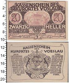 Изображение Банкноты Германия : Нотгельды 20 геллеров 1920  XF