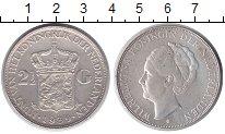Изображение Монеты Нидерланды 2 1/2 гульдена 1939 Серебро XF