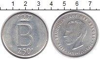 Изображение Монеты Бельгия 250 франков 1976 Серебро XF