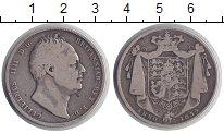 Изображение Монеты Великобритания 1/2 кроны 1834 Серебро VF