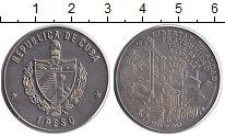 Изображение Монеты Куба 1 песо 1989 Медно-никель XF 200 лет взятия Басти