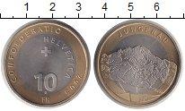 Изображение Монеты Швейцария 10 франков 2005 Биметалл UNC-