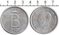 Изображение Монеты Бельгия 250 франков 1976 Серебро UNC