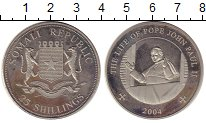 Изображение Монеты Африка Сомали 25 шиллингов 2004 Медно-никель UNC