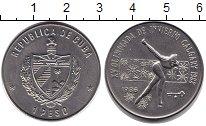 Изображение Монеты Куба 1 песо 1986 Медно-никель UNC Олимпиада 1988 г. Ка