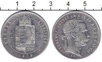 Изображение Монеты Венгрия 1 форинт 1879 Серебро XF Франц Иосиф I.