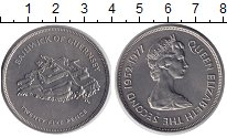 Изображение Монеты Гернси 25 пенсов 1977 Медно-никель UNC-