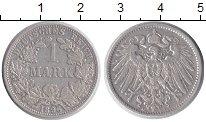 Изображение Монеты Европа Германия 1 марка 1896 Серебро XF-