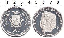 Изображение Монеты Африка Гвинея 500 франков 1970 Серебро Proof-