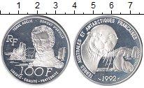 Изображение Монеты Европа Франция 100 франков 1992 Серебро Proof