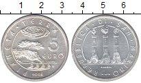 Изображение Монеты Сан-Марино 5 евро 2008 Серебро UNC