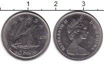 Изображение Монеты Канада 10 центов 1977 Медно-никель XF Елизавета II.