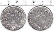 Изображение Монеты Великобритания Британская Индия 1 рупия 1835 Серебро XF