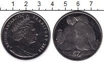 Изображение Монеты Антарктика 2 фунта 2013 Медно-никель XF
