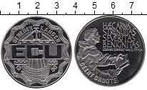 Изображение Мелочь Нидерланды 10 экю 1990 Медно-никель UNC-
