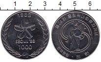Изображение Монеты Корея 1000 вон 1988 Медно-никель UNC