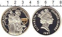 Изображение Монеты Соломоновы острова 10 долларов 1997 Серебро Proof-