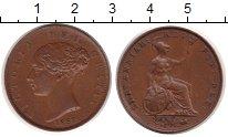 Изображение Монеты Великобритания 1/2 пенни 1853 Медь XF+