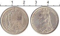 Изображение Монеты Великобритания 1 шиллинг 1891 Серебро XF