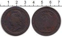 Изображение Монеты Африка Либерия 2 цента 1862 Медь VF