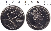 Изображение Мелочь Остров Мэн 1 крона 1995 Медно-никель UNC