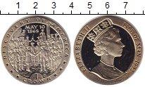 Изображение Монеты Великобритания Остров Мэн 1 крона 1992 Медно-никель UNC