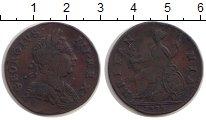 Изображение Монеты Европа Великобритания 1/2 пенни 1773 Медь VF