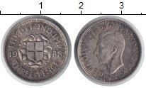 Изображение Мелочь Европа Великобритания 3 пенса 1938 Серебро VF