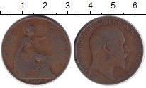 Изображение Монеты Великобритания 1 пенни 1907 Бронза VF