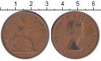 Изображение Монеты Европа Великобритания 1 пенни 1964 Бронза XF