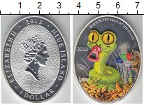 Изображение Монеты Новая Зеландия Ниуэ 1 доллар 2013 Серебро Proof