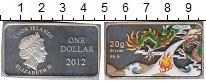 Изображение Монеты Острова Кука 1 доллар 2012 Серебро Proof