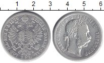 Изображение Монеты Австрия 1 флорин 1879 Серебро VF